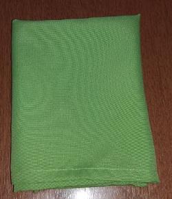 Guardanapo oxford verde com bainha